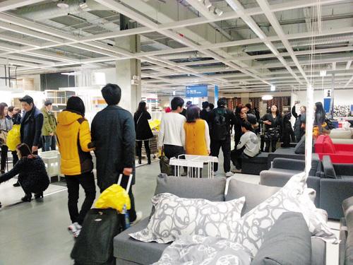 Ikea fever cools after bumper month kherald in atlanta for Ikea customer service atlanta